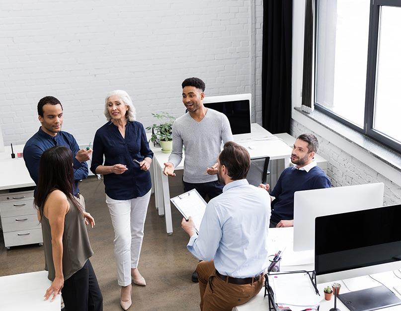 business leader, leadership, team